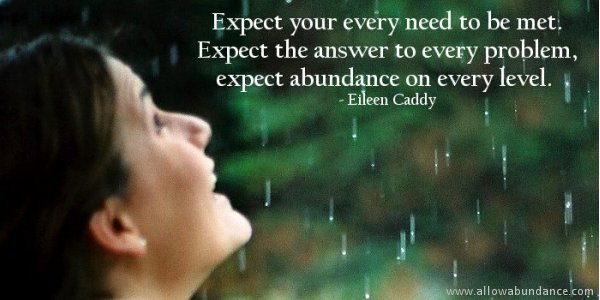 Expect Your Every Need to Be Met