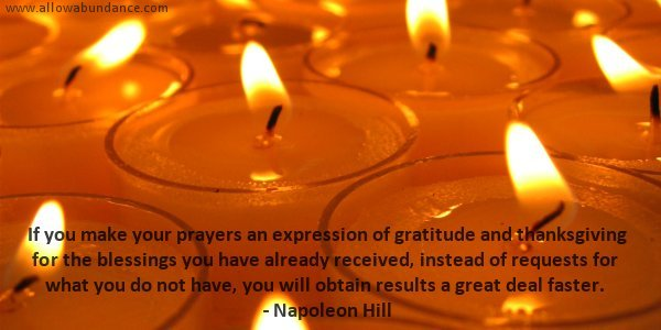 Prayers of Gratitude and Thanksgiving