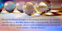 Mental Attitude is the Magnet